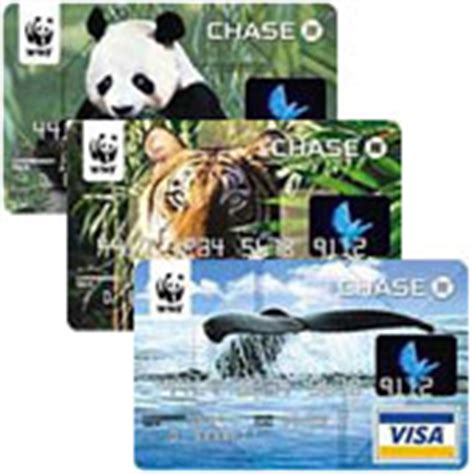 Chase Credit Card Gift Cards - world wildlife fund