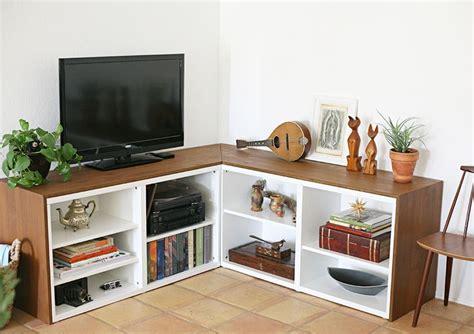 besta corner unit materials used 2 ikea besta bookshelves 1 piece of