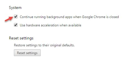 chrome running in background exit chrome completely by closing background apps
