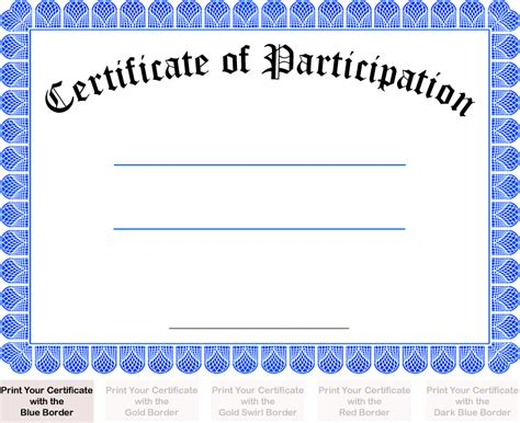 certificate of participation template fantastically creative best s