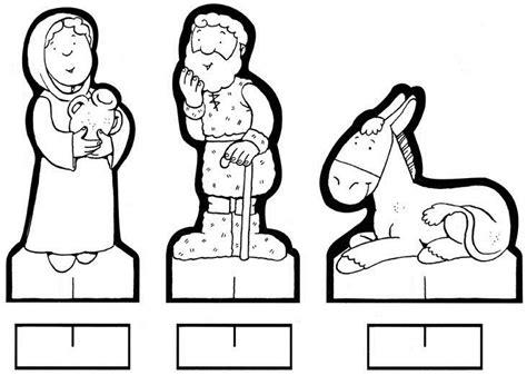dibujos navideños para colorear portal belen recortables del belen para colorear 5 3 jpg 731 215 520
