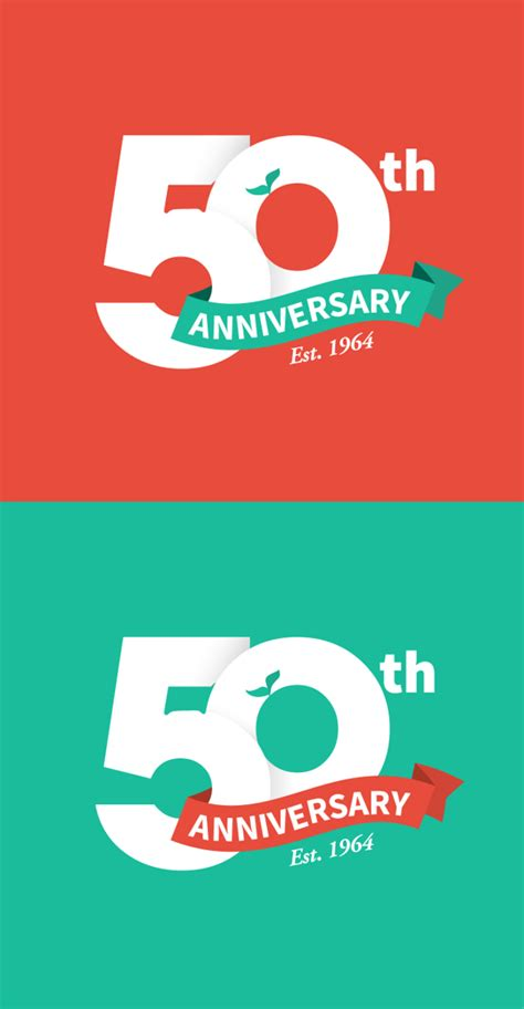50th Wedding Anniversary Logo Ideas by 50th Anniversary Logo By Yeater Via Behance