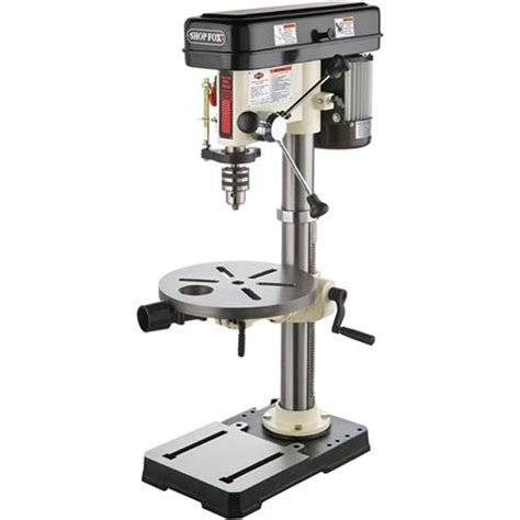 bench drill presses drill presses shop fox 3 4 hp 13 inch bench top drill press w1668