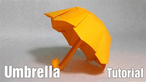 How To Make Paper Umbrella - paper umbrella origami umbrella tutorial henry phạm