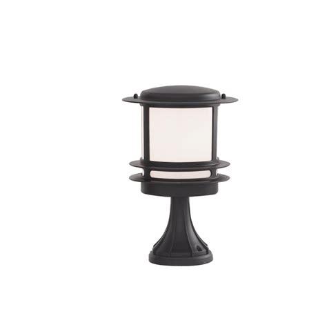 Garden Post Light Black Aluminium Outdoor Pedestal Ip44 Rated Outdoor Pedestal Lights