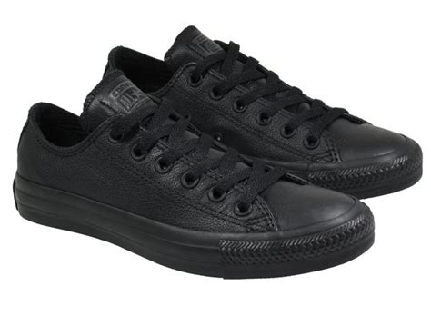 4vy66gd5 authentic black leather converse