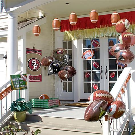 Football Decorations City by Bowl Food Ideas Football Food Ideas City
