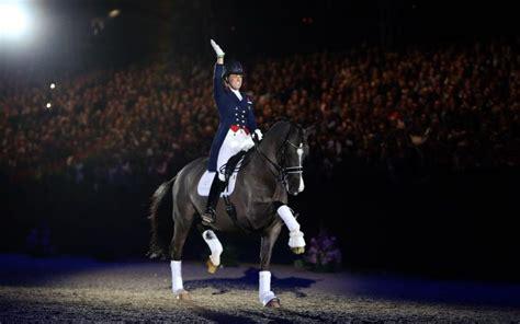 olympia salutes  dressage superstar  valegro bows