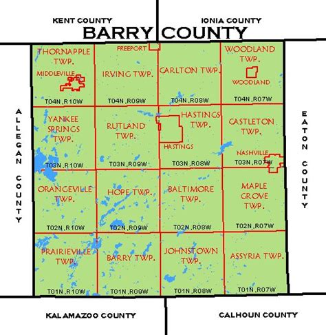 history and directory of kent county michigan containing a history of each township and the city of grand rapids the name location and postoffice in the county a schedule of populat books cf map barry county