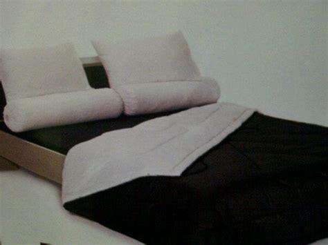 Sprei Katun Jaxine White Brown 180x200x25 sprei shyra polos rumah sprei cantik