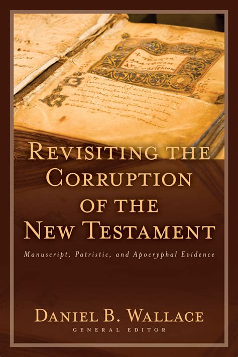 reference books on corruption revisiting the corruption of the new testament kregel