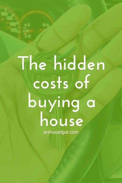 fees with buying a house the hidden costs of buying a house a relaxed gal