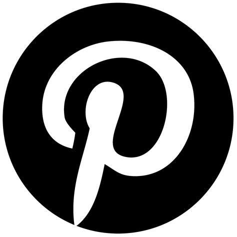 pinterest logo png transparent svg vector freebie supply