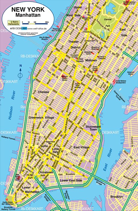 Maps Of New York City by Maps Street Map Of New York City