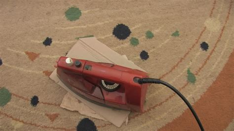 how to get wax out of rug how to get wax out of fabrics and carpet 9 steps with pictures