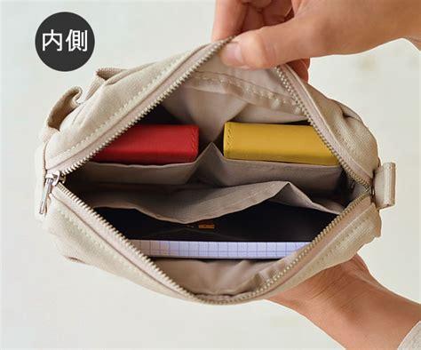 Simple Solid Color Cosmetic Bag Tas Kosmetik Travel Wash Bag zakkashop rakuten global market makeup porch inner