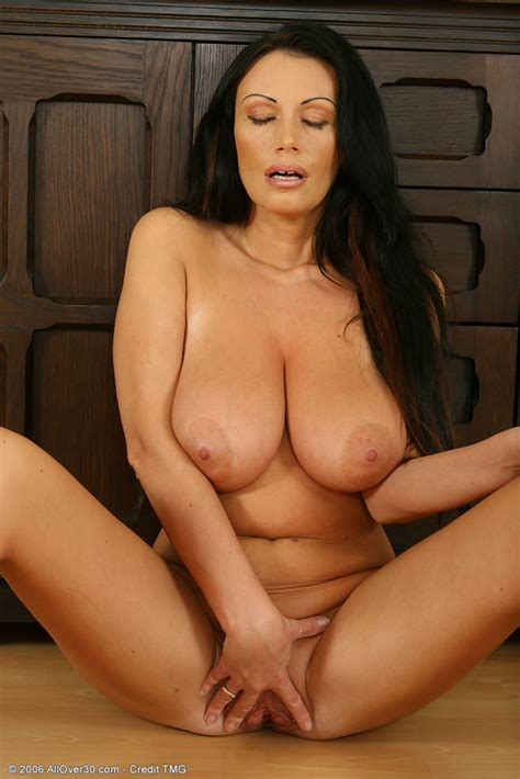 busty Brunette milf Playing With Her Large Titties In Here Pichunter