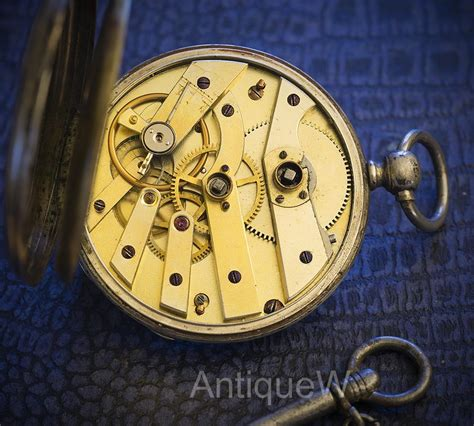 antique pocket with key vacheron geneve silver