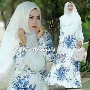 Gamis Batik Azizah gamis azizah maxmara a055 busana muslim modern syari