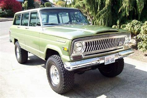1970 jeep wagoneer prestine 1970 jeep wagoneer four by four pinterest