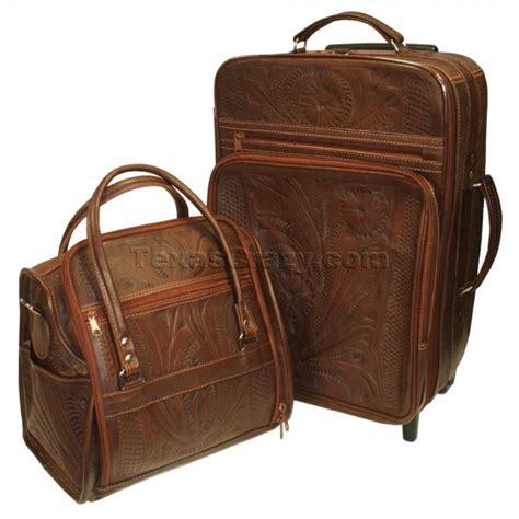 Western Style Shop shop tooled leather luggage sets western style