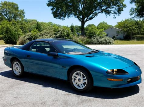 1994 chevrolet camaro z28 coupe 2 door 5 7l 6 speed manual trans low miles l k