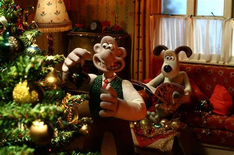Wallace and gromit get ready for christmas in december