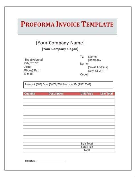 dhl proforma invoice template dhl proforma invoice template pro invoice t dhl proforma