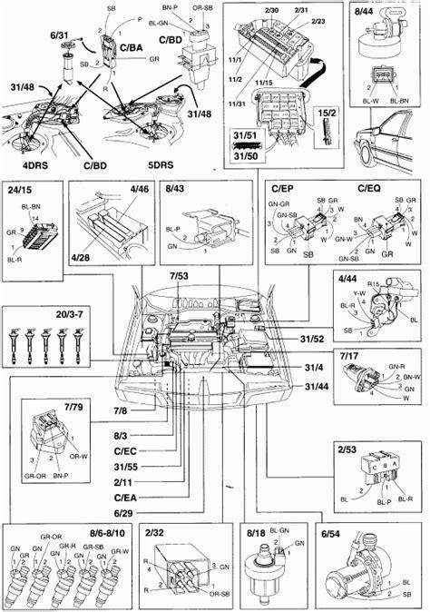 1998 volvo s70 engine diagram volvo auto parts catalog