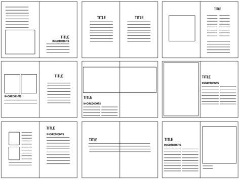 online layout 잡지 책자 편집 디자인 레이아웃 그리드 샘플 visualcox