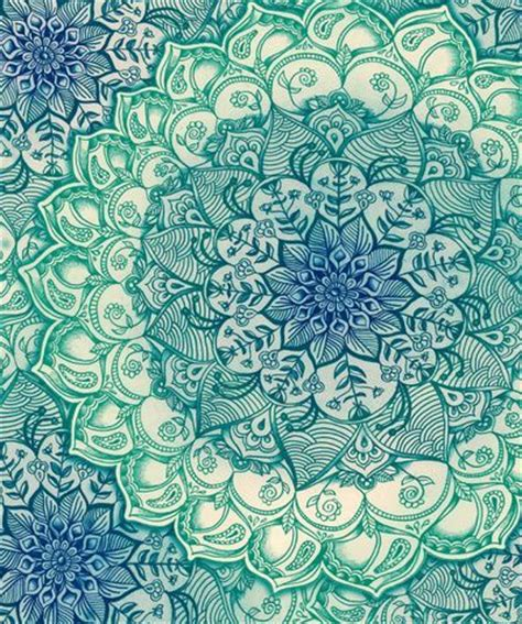 pattern design tumblr pretty drawing design green blue pattern floral thepreprally