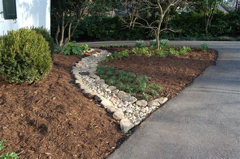 dry creek beds garden design hortitopia