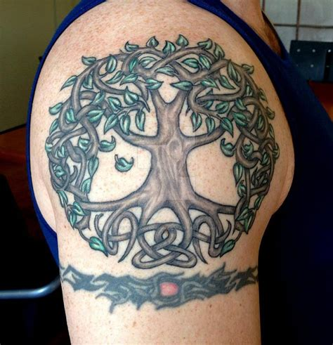 celtic tree of life tattoo design tree of by design on deviantart