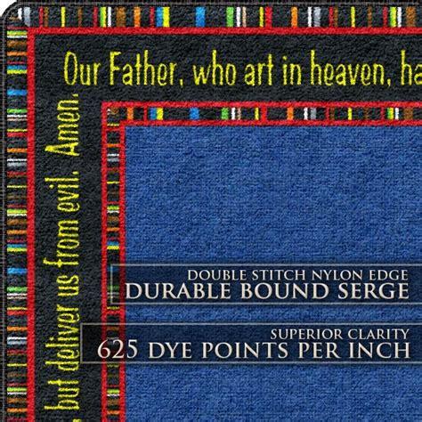 faith based rugs flagship carpets the lord s prayer faith based rug