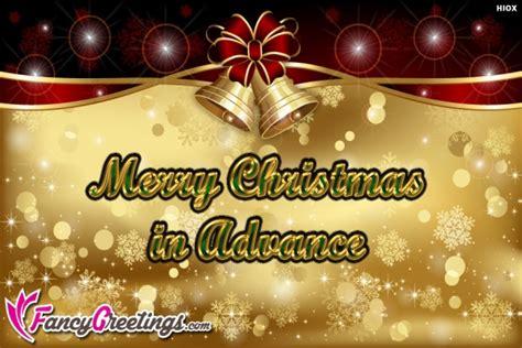 merry christmas  advance
