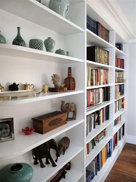built in bookshelves bespoke bookcases london furniture