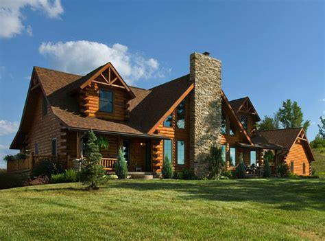 new log cabin homes nhlogcabinhomes exterior slideshowlog cabin kits and log