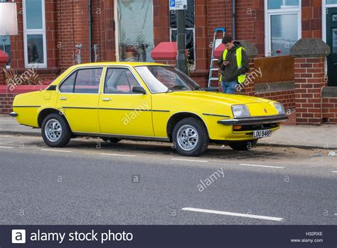 vauxhall yellow a yellow 1975 vauxhall cavalier car used in filming