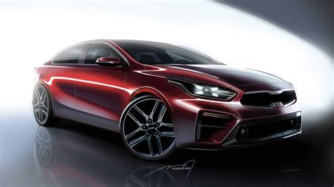 all new 2019 kia forte borrows swept back look from the