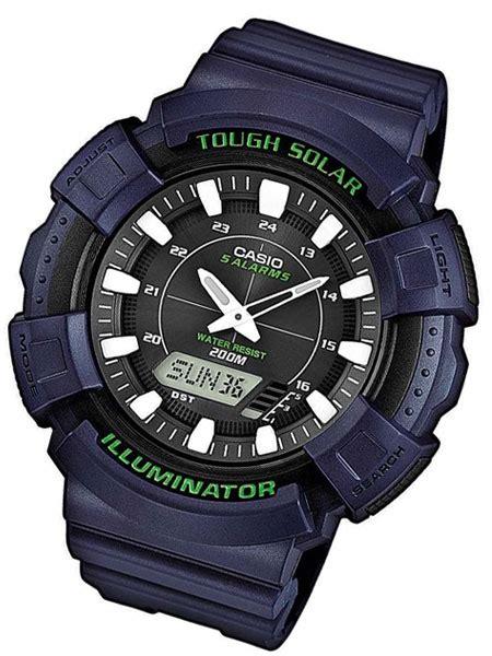 Casio Ad S800wh 2av Tough Solar casio tough solar light powered world time chronograph