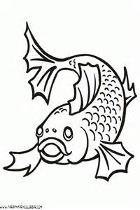 dibujo peces colouring pages