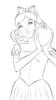 Outline Drawings by Snow White Outline By Jcblkpg On Deviantart