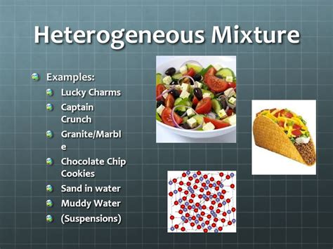 exle of mixture substances and mixtures ppt