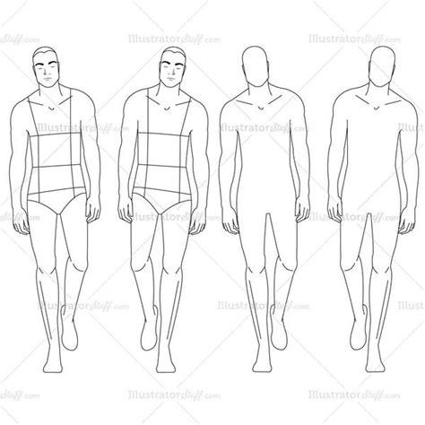 fashion design templates for adobe illustrator male fashion croquis template illustrator stuff