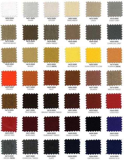 Upholstery Fabric Remnants Sunbrella Marine Fabric Color Chart Foto 2017