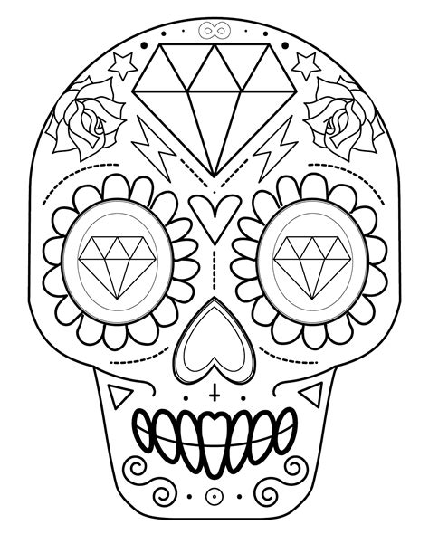 imagenes de calaveras dia de muertos dibujos de calaveras para colorear decalaveras com