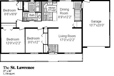st lawrence homes floor plans st lawrence sea hawk homes
