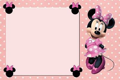 free minnie mouse place card template tarjetas para imprimir gratis de minnie mouse en rosa