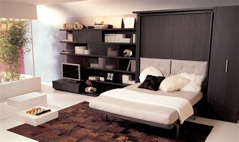 black and white wall decor for bedroom contemporary bedroom with white wall decor and black wooden wardrobe bed design