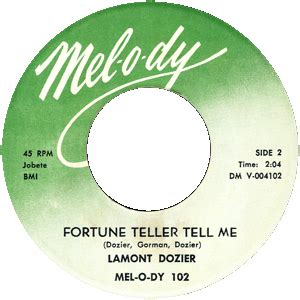 a fortune teller told me 189 lamont dozier fortune teller tell me motown junkies